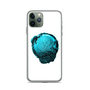 iPhone Case - Ice Cream Ball FIGHT - Blue Mint Winter Wonderland HABIT iPhone 11 Pro