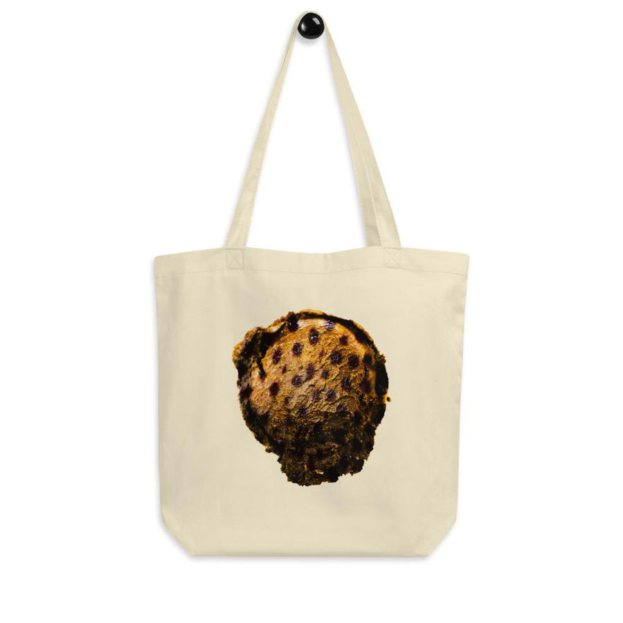 Eco Tote Bag - Ice Cream Ball FIGHT - Cheetah Cookie HABIT Oyster