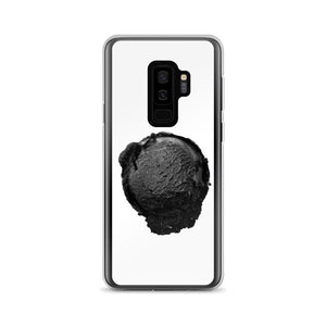 Samsung Case - Ice Cream Ball FIGHT - Coconut Charcoal HABIT Samsung Galaxy S9+
