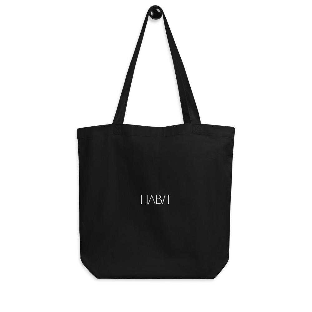 Eco Tote Bag - Ice Cream Ball FIGHT - Coconut Charcoal HABIT