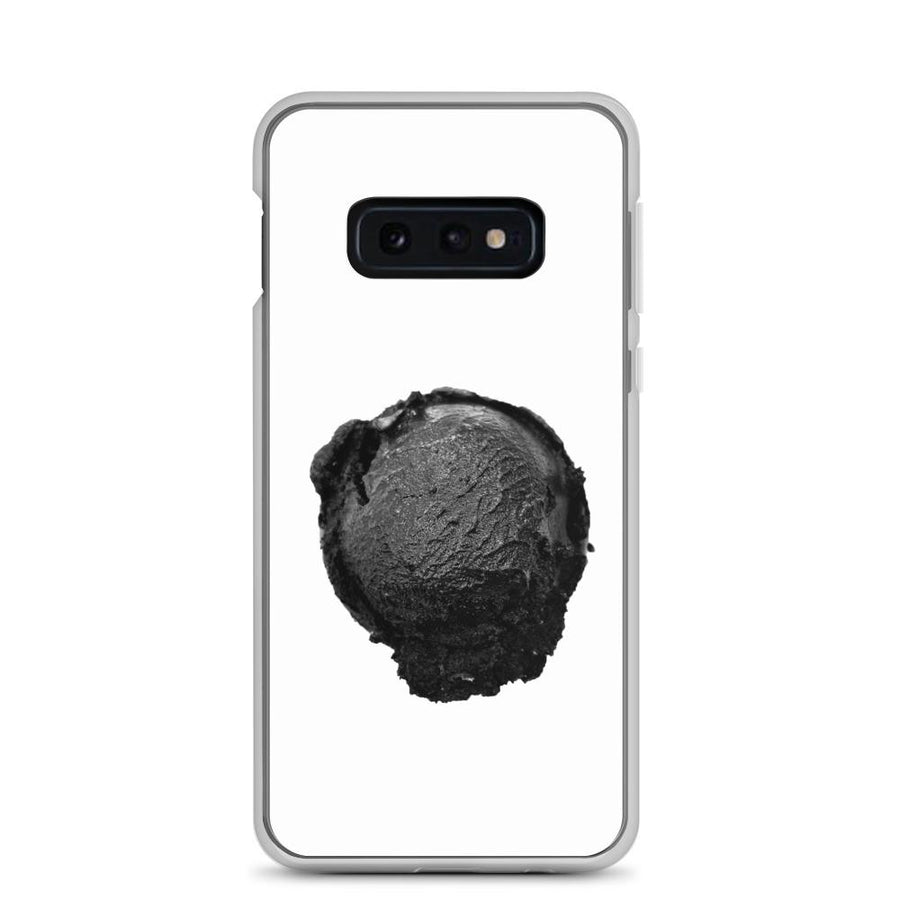 Samsung Case - Ice Cream Ball FIGHT - Coconut Charcoal HABIT Samsung Galaxy S10e