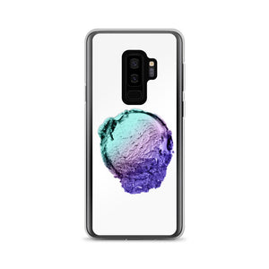 Samsung Case - Ice Cream Ball FIGHT - Spearmint Lavender Smear HABIT Samsung Galaxy S9+
