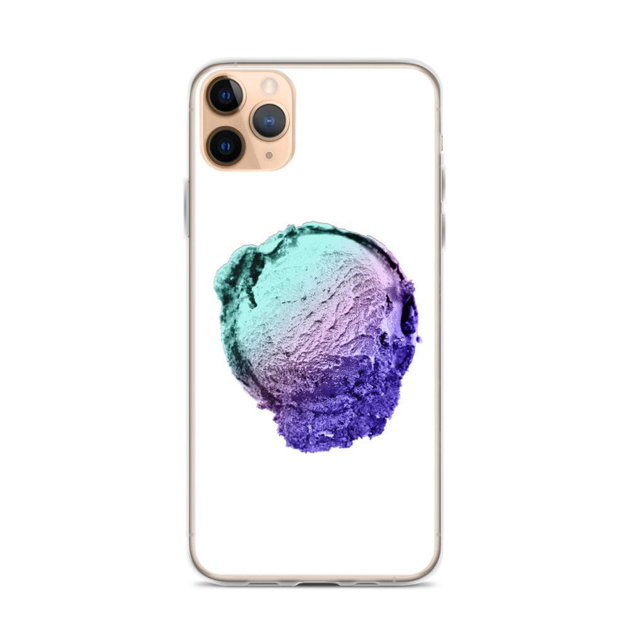 iPhone Case - Ice Cream Ball FIGHT - Spearmint Lavender Smear HABIT iPhone 11 Pro Max
