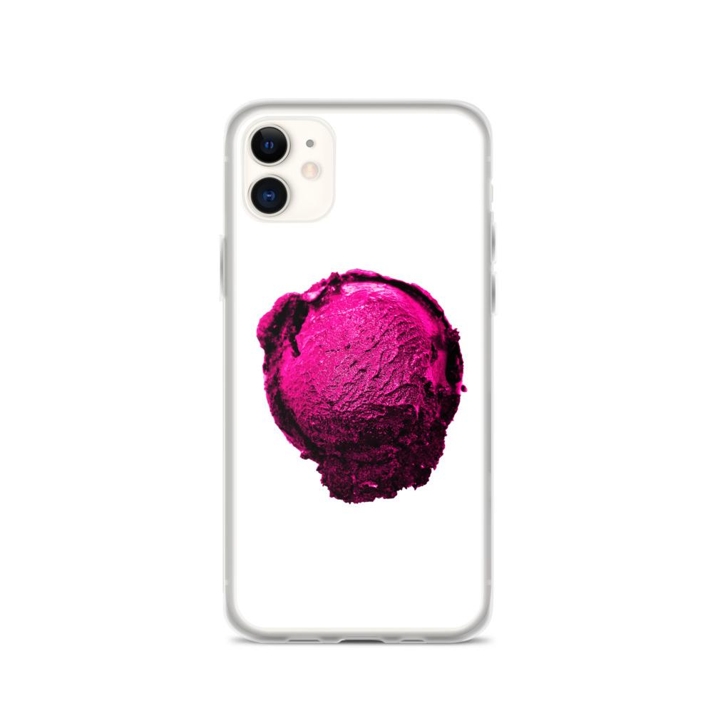 iPhone Case - Ice Cream Ball FIGHT - Pink Bubblegum Floss HABIT iPhone 11