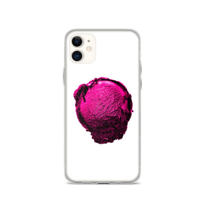 iPhone Case - Ice Cream Ball FIGHT - Pink Bubblegum Floss