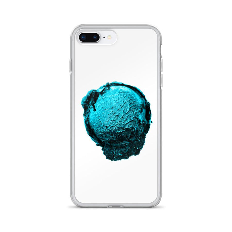 iPhone Case - Ice Cream Ball FIGHT - Blue Mint Winter Wonderland HABIT iPhone 7 Plus/8 Plus