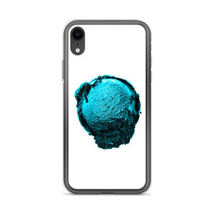 iPhone Case - Ice Cream Ball FIGHT - Blue Mint Winter Wonderland HABIT iPhone XR