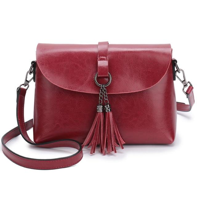 The Femme Fatale Victorian Leather Briefcase Messenger Crossbody Bag Top-Handle Bags ESUFEIR Official Store Burgundy