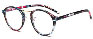 The One and Only Classic Transparent Round Glasses Frames Women's Eyewear Frames SHENZHEN BO SHI TONG Flower