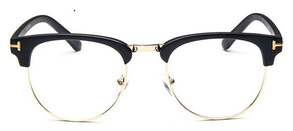 The Halfsies Retro Cat Eyeglasses For Women's Women's Eyewear Frames SHENZHEN BO SHI TONG matte black gold
