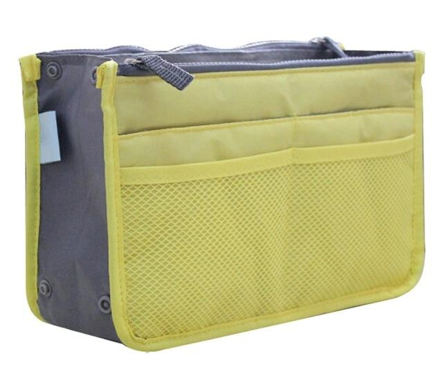 The One and Only Epic Purse Organizer Insert Bag Cosmetic Bags & Cases coofit Official Store Yellow