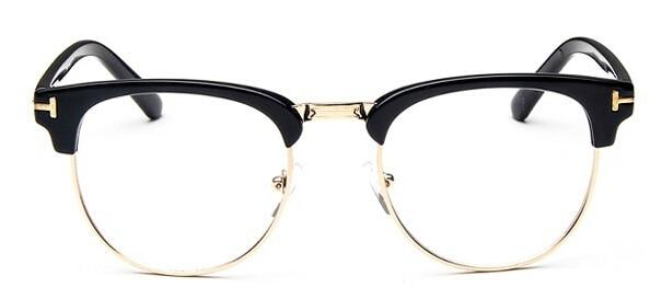 The Halfsies Retro Cat Eyeglasses For Women's Women's Eyewear Frames SHENZHEN BO SHI TONG black gold