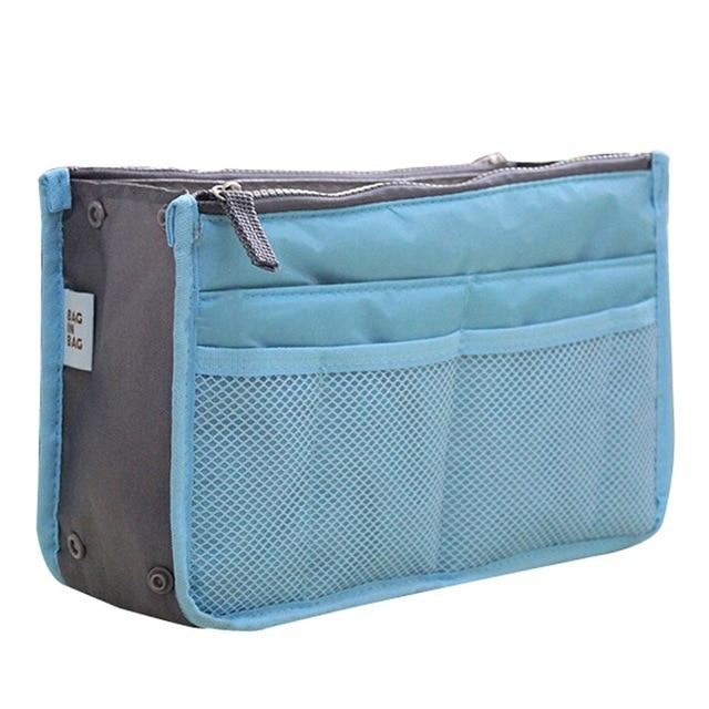 The One and Only Epic Purse Organizer Insert Bag Cosmetic Bags & Cases coofit Official Store Sky Blue