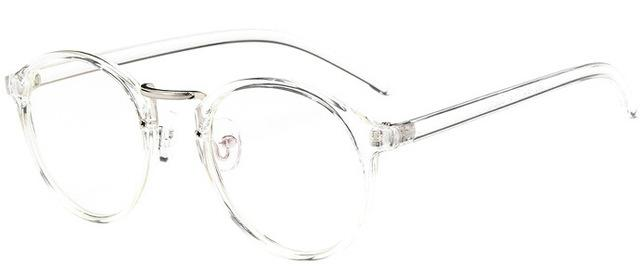 The One and Only Classic Transparent Round Glasses Frames Women's Eyewear Frames SHENZHEN BO SHI TONG Transparent