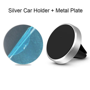 The Best Magnetic Phone Mount for Cars Mobile Phone Holders & Stands BeeBeeBee Store Silver