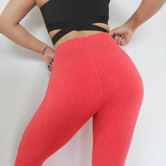 The Staple High Waist Seamless Pants Sports Yoga Leggings - HABIT