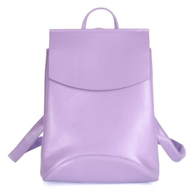 The Ultimate Minimal School Backpack Shoulder Bag Backpacks Zocilor Official Store Purple