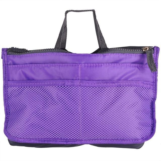 The One and Only Epic Purse Organizer Insert Bag Cosmetic Bags & Cases coofit Official Store Purple