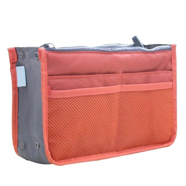 The One and Only Epic Purse Organizer Insert Bag Cosmetic Bags & Cases coofit Official Store Orange