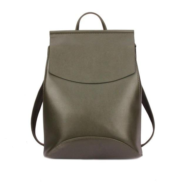 The Ultimate Minimal School Backpack Shoulder Bag Backpacks Zocilor Official Store Army Green