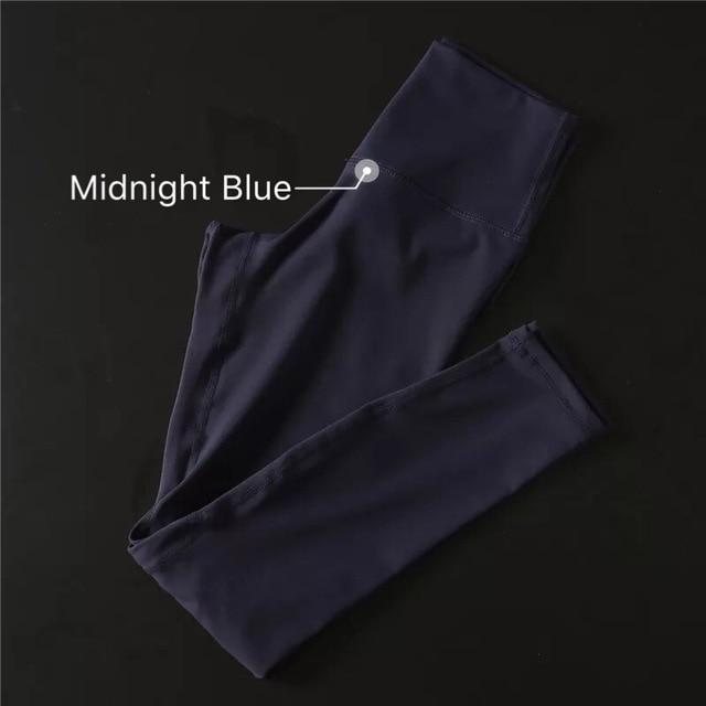 The Secret Secure Card Keeper Anti-Sweat High-Compression Slimming Yoga & Gym Leggings Yoga Pants COLORVALUE Official Store Midnight Blue XS