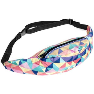 The Animal Canvas Sling Bags Collection Waist Packs Jom tokoy Colourful Geometry