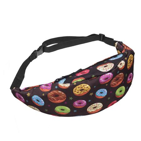 The Animal Canvas Sling Bags Collection Waist Packs Jom tokoy Yummy Donuts