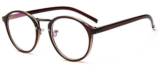 The One and Only Classic Transparent Round Glasses Frames Women's Eyewear Frames SHENZHEN BO SHI TONG Tea