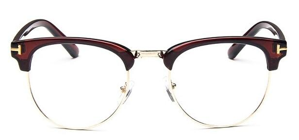 The Halfsies Retro Cat Eyeglasses For Women's Women's Eyewear Frames SHENZHEN BO SHI TONG tea