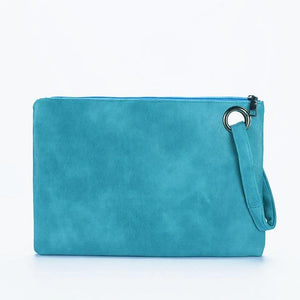 The All-Day and All-Night Manila Folder Envelope Clutch Purse Clutches Yogodlns Outlets Store Turquoise