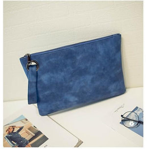 The All-Day and All-Night Manila Folder Envelope Clutch Purse Clutches Yogodlns Outlets Store Blue