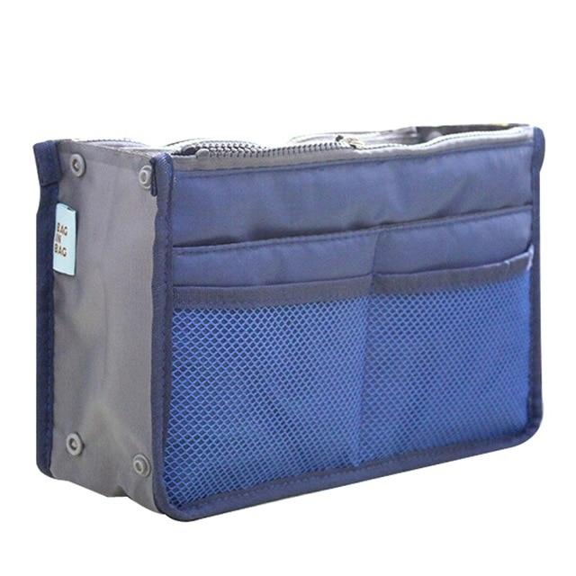The One and Only Epic Purse Organizer Insert Bag Cosmetic Bags & Cases coofit Official Store Blue