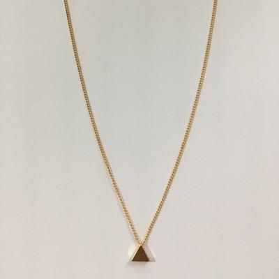 The Ultimate Layering Super Awesome Wow Bohemian Goddess Pendant Choker Necklace Pendant Necklaces Fitable Trendy Store 2D Egyptian Golden Pyramid Choker Necklace