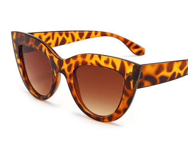 The Vintage 50s Pop Art Cat Eye Retro Sunglasses - HABIT