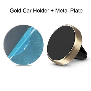 The Best Magnetic Phone Mount for Cars Mobile Phone Holders & Stands BeeBeeBee Store Gold