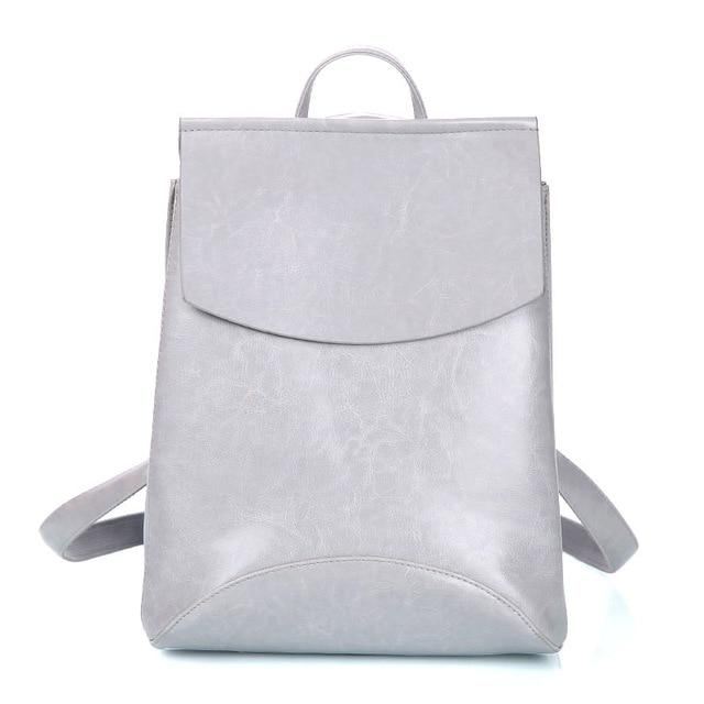 The Ultimate Minimal School Backpack Shoulder Bag Backpacks Zocilor Official Store Gray