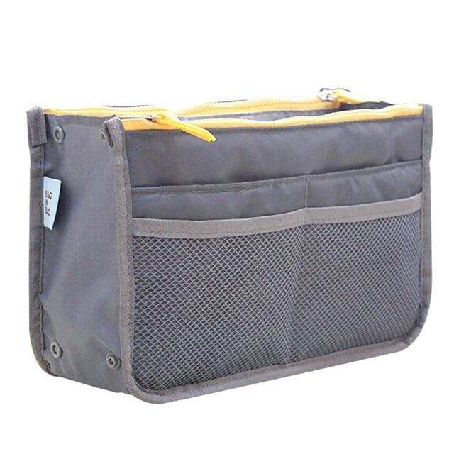 The One and Only Epic Purse Organizer Insert Bag Cosmetic Bags & Cases coofit Official Store Grey