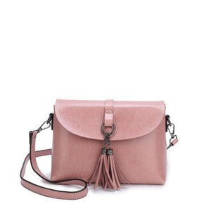 The Femme Fatale Victorian Leather Briefcase Messenger Crossbody Bag Top-Handle Bags ESUFEIR Official Store Pink