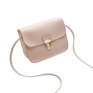 The Tiny Button Crossbody Shoulder Messenger Bag Top-Handle Bags St Ruizhu Store Pink