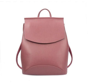The Ultimate Minimal School Backpack Shoulder Bag Backpacks Zocilor Official Store Dark Pink New