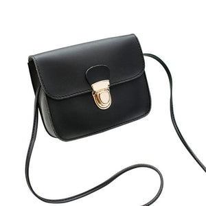 The Tiny Button Crossbody Shoulder Messenger Bag Top-Handle Bags St Ruizhu Store Black