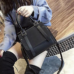 Classic Satchel Shoulder Crossbody Bag Handbag Shoulder Bags LEFTSIDE Official Store 100% Dark Single Origin 26cm x 23cm x 14cm