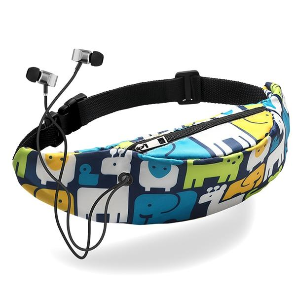 Waterproof Canvas Sling Sports Bags (w. Earphone Jack Hole) Collection - HABIT