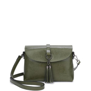 The Femme Fatale Victorian Leather Briefcase Messenger Crossbody Bag Top-Handle Bags ESUFEIR Official Store Green