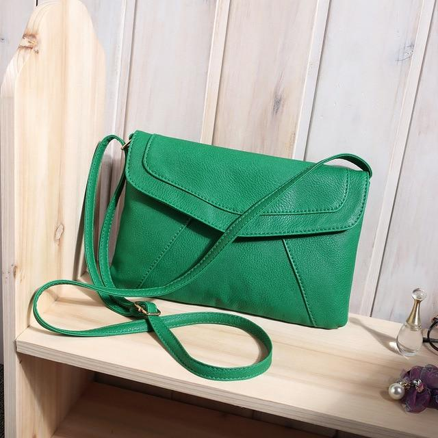 The Small Envelope Shoulder Messenger Bag Shoulder Bags Shop2944120 Store Green