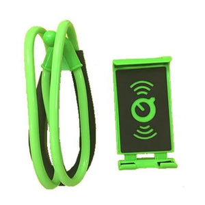 The Super Lazy Yet 360 Degree Flexible Phone Selfie Holder and Hanging Neck Stand Mobile Phone Holders & Stands CT-Mart Store Green