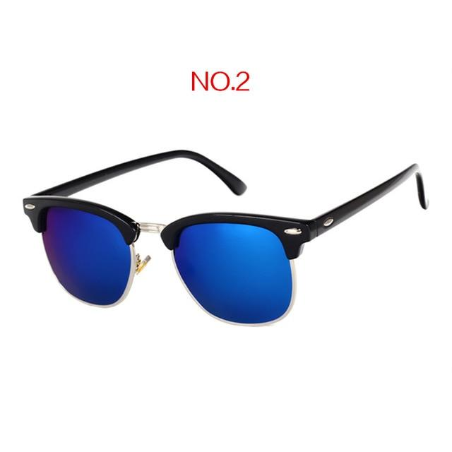 The Classic High Brow Retro Polarized Unisex Girls Sunglasses Men's Sunglasses yooske Official Store NO2