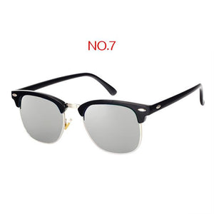 The Classic High Brow Retro Polarized Unisex Girls Sunglasses Men's Sunglasses yooske Official Store NO7