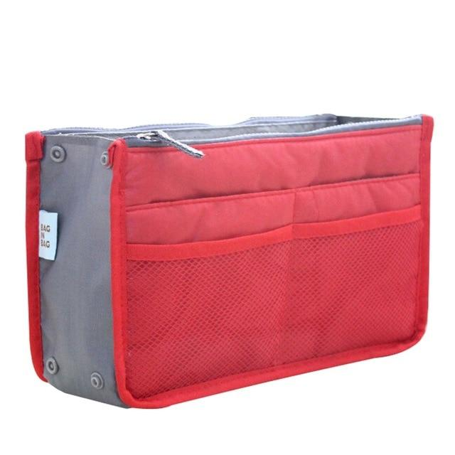 The One and Only Epic Purse Organizer Insert Bag Cosmetic Bags & Cases coofit Official Store Red