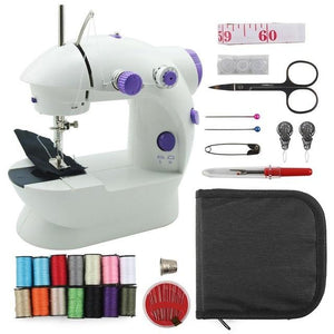 The Teeny Tiny Electric Mini Sewing Machine Sewing Machines BELLACASA Store The Essentials Sewing Kit and the Teeny Tiny Sewing Machine